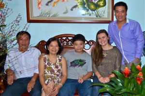 My Vietnamese family and their new daughter/sister
