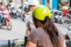 What do you know about ponytail helmets?