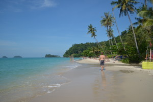 The beach at Ko Chang.
